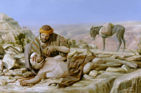 A good man from Samaria displayed the love of a God He might not jet have met.