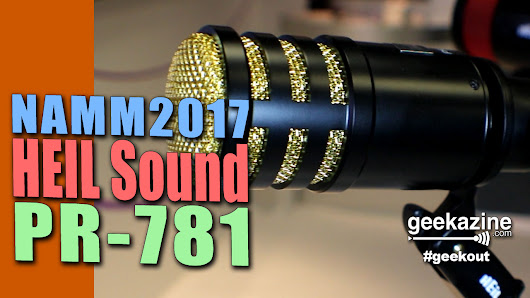 Bob Heil Celebrates 50 Years, Talks the New PR-781 Dynamic Microphone
