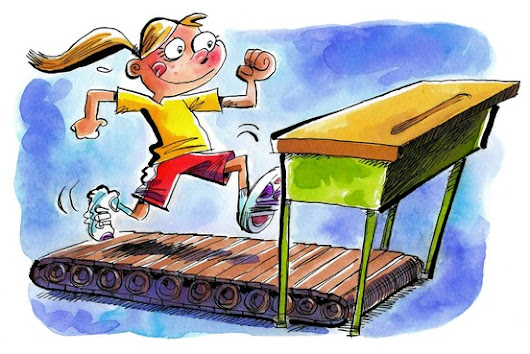 Exercise Helps Children With ADHD in Study