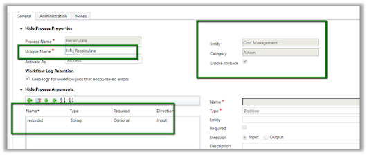 Sample code to call Action using Web API in CRM