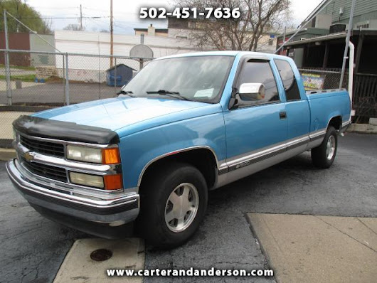 Used 1994 Chevrolet C/K 1500 for Sale in Louisville KY 40204 Carter & Anderson Motorsports