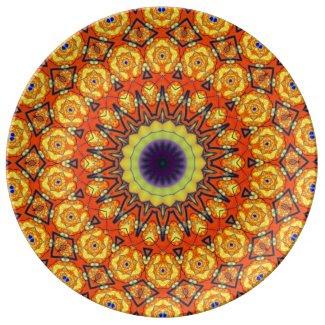 Retro 81 porcelain plates