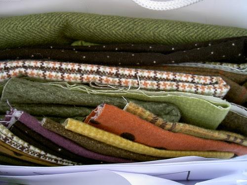 Flannels! In tweed designs!