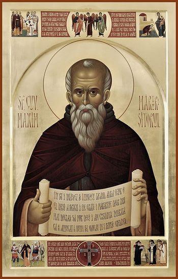 Răzvan Gвscă, St. Maximus the Confessor with Scenes from His Life