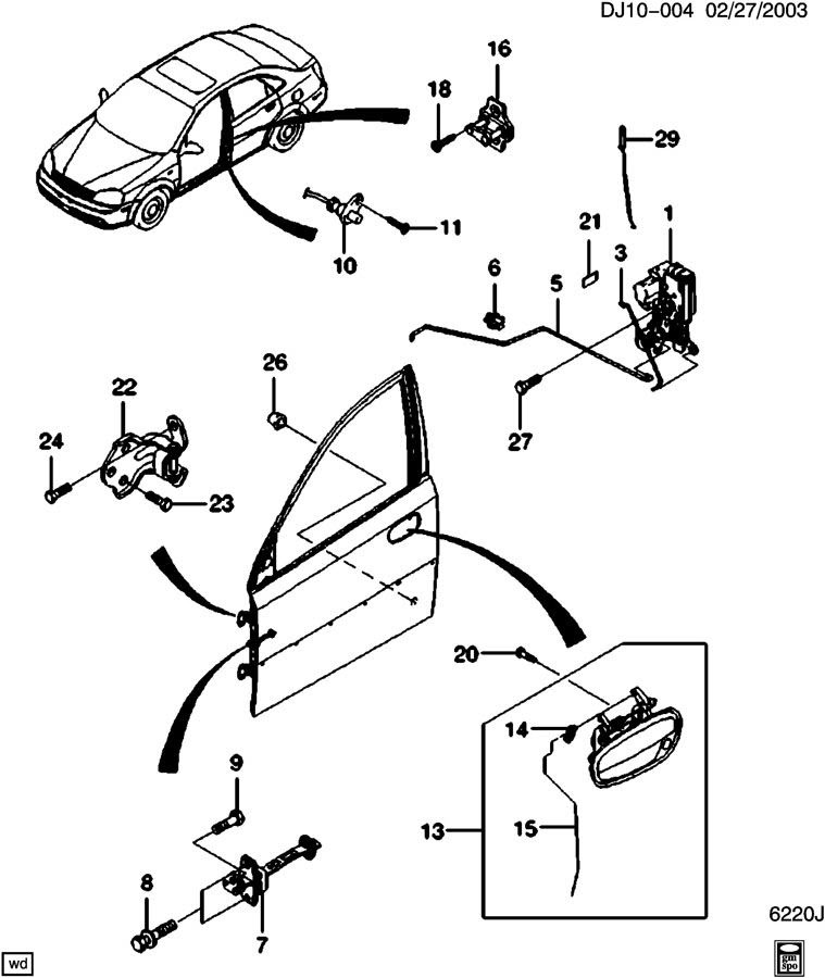 Wiring Database 2020: 26 2009 Chevy Aveo Parts Diagram