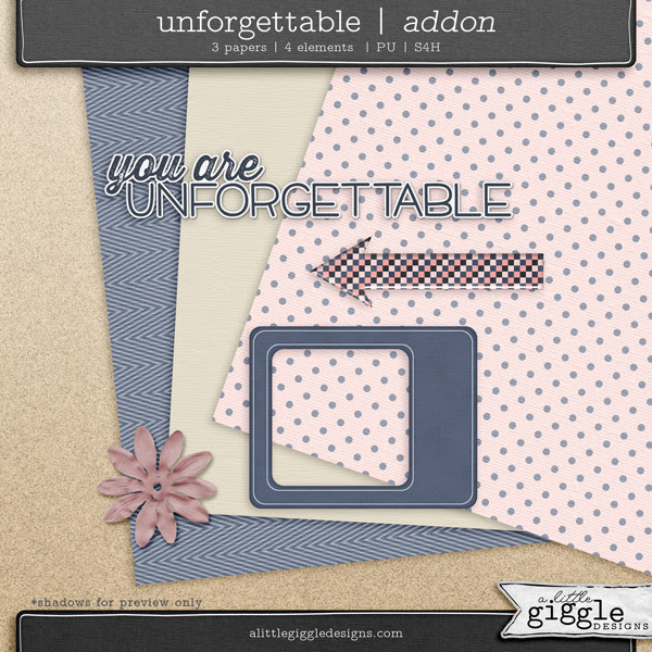 Unforgettable Mini Kit Freebie Download from A Little Giggle Designs