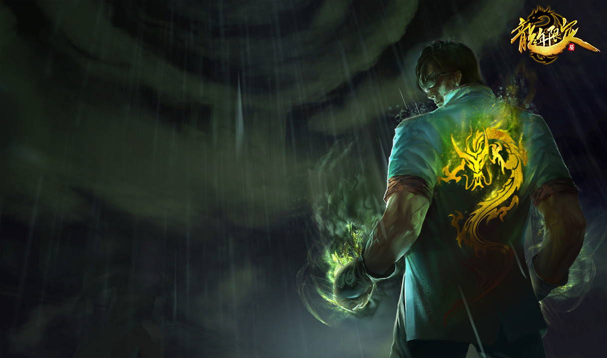 Dragon Fist Lee Sin Chinese Art League Of Legends Wallpapers