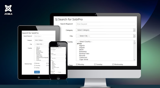 Powerful Search Module for SobiPro - Sj Search for SobiPro