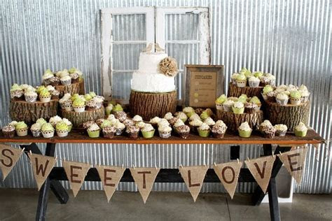 Like the banner for the cookie table!!   Wedding Ideas