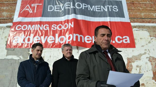 Barrie developer launching two major projects
