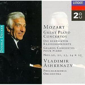 Mozart: Piano Concertos 20-25