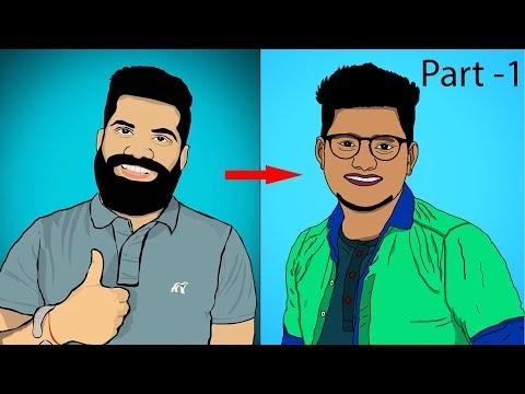 How to make Cartoon Effects Like Technical Guruji Part-1