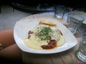 Xtremely Xpresso 's Meat Lasagna