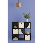 """11"""" 9 Cube Organizer Shelf Espresso - Room Essentials"""
