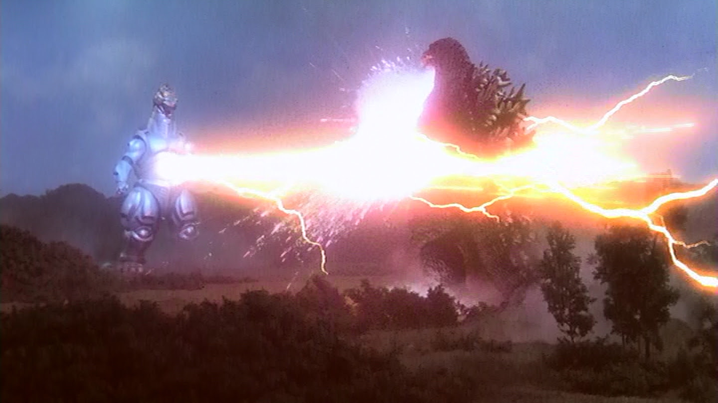 Behold the power of this fully operational Mechagodzilla!