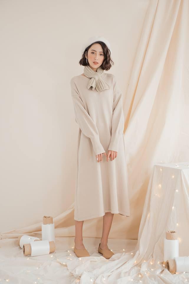 Tết này dự báo trời lạnh, và đây là những mẫu váy len vừa đẹp vừa ấm dành cho các nàng - Ảnh 10.