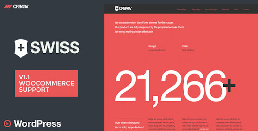 Swiss - Premium WordPress Theme