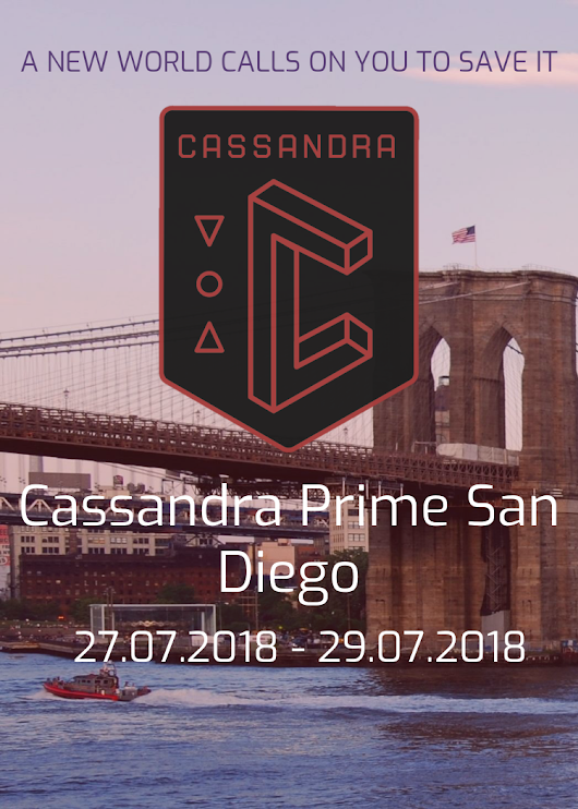 GORUCK is proud to be a part of the Cassandra Prime XM Anomaly series beginni...