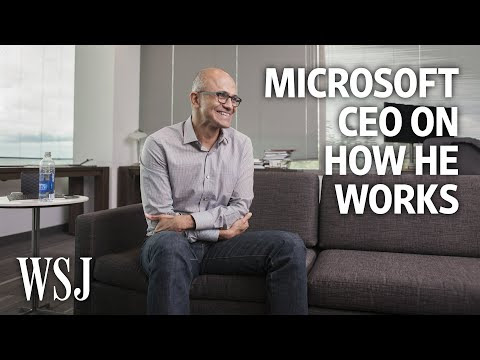 Microsoft CEO Satya Nadella: How I Work