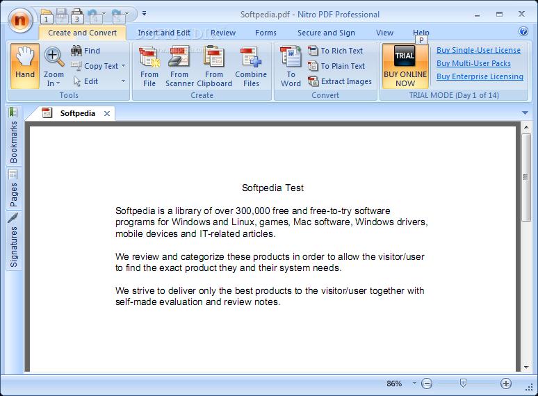 Nitro PDF Proffessional