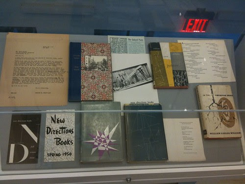 New Directions books on display