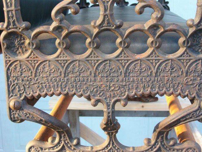 Buntin railroad seat