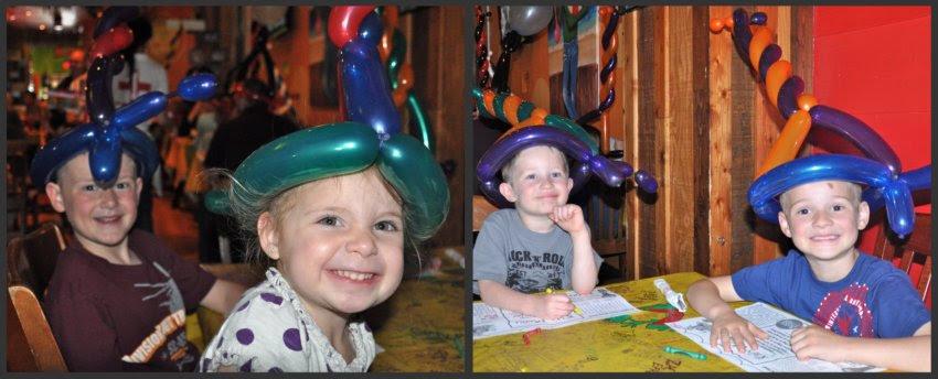 Balloon Hats!