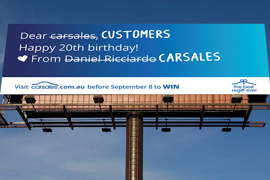 It's carsales' birthday but the presents are for you!