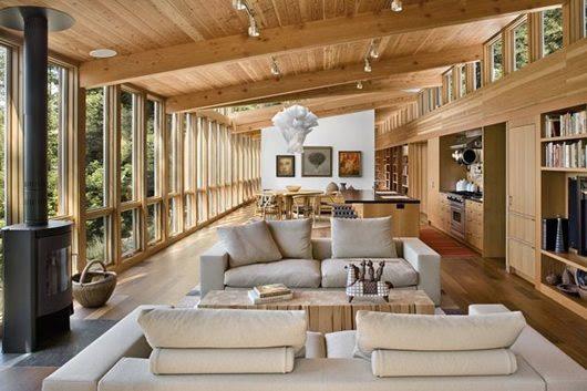 Modern Cottage Design: Sebastopol Residence by Turnbull Griffin