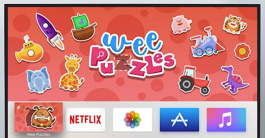Apps for Kids Launch on Apple TV