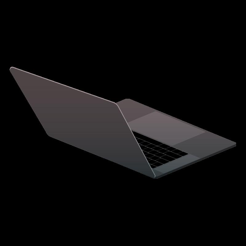 Macbook Pro 裏 のイラスト 素材 Tech Pic