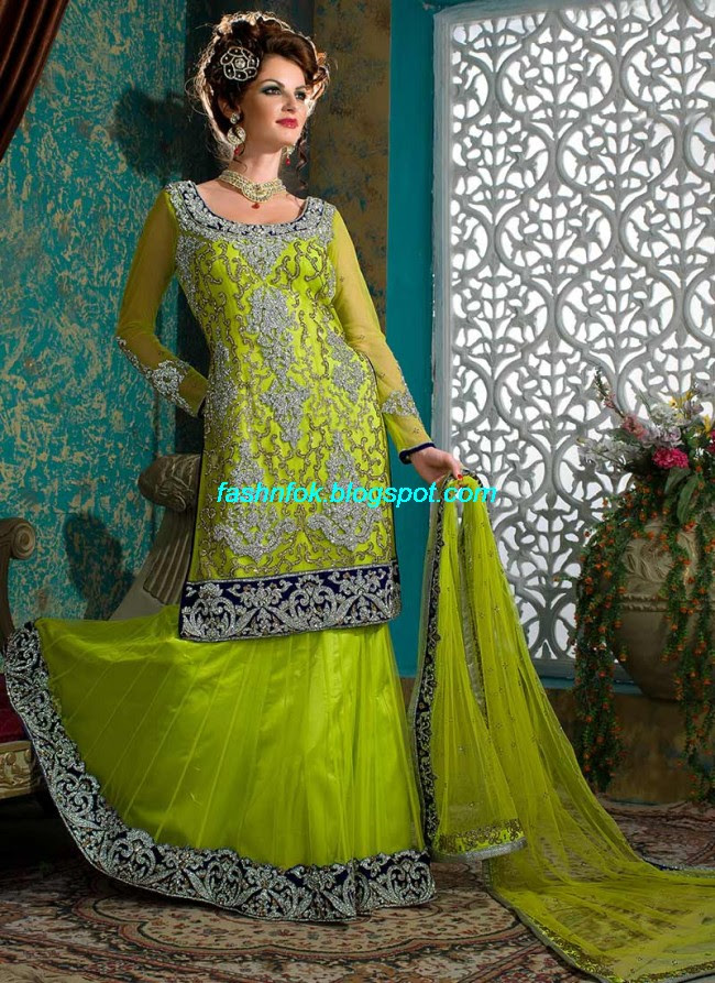 Beautiful-Cute-Girls-Wear-Bridal-Lehenga-Choli-New-Fashion-Dress-Design-2013-11