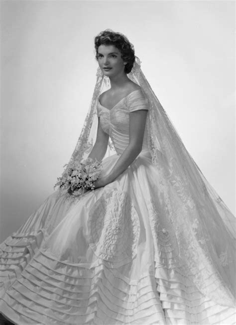 Vintage Bridal Icon: Jacqueline Lee Bouvier Kennedy