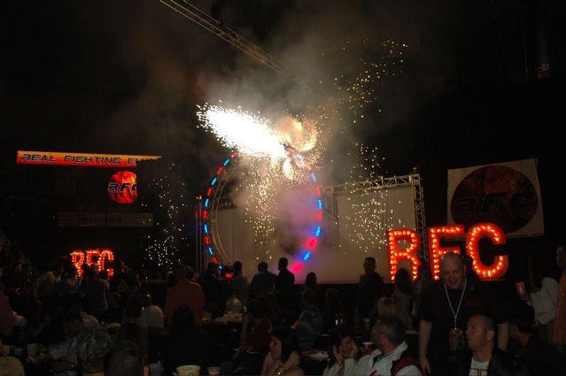 arena pyrotechnics
