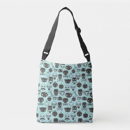 Personality Skull Pattern Tote - Mint