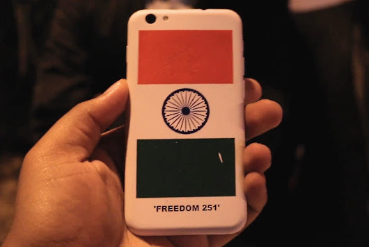 Freedom 251 is definitely a great buy, but we smell something else here!