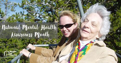 National Mental Health Awareness Month | Right at Home | Blog