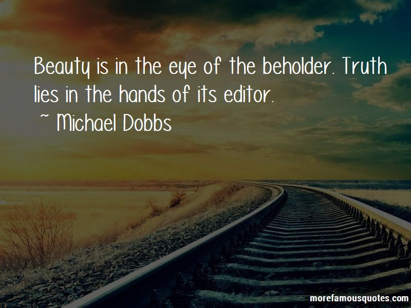 Beauty Lies In The Eye Of Beholder Quotes Top 1 Quotes About Beauty