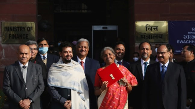 Sitharaman replaces bahi-khata with Made In India tablet as Budget 2021 goes digital https://ift.tt/39wT8oN
