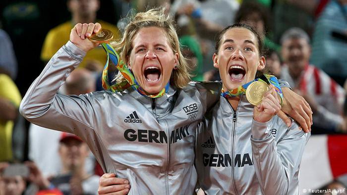 Rio 2016 Olympia Kira Walkenhorst Laura Ludwig Beach Volleyball
