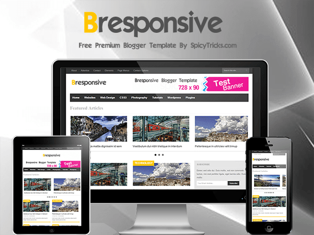 bresponsive free Responisve Blogger Template 25+ Best Free Magazine Blogger Templates for 2013 Download