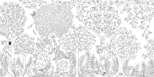 Adult Coloring Books are all the Rage.