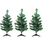 Northlight 3 LED Christmas Tree Driveway or Pathway Markers Outdoor Decorations