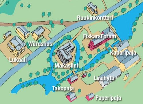 Meridiaanit Kartta