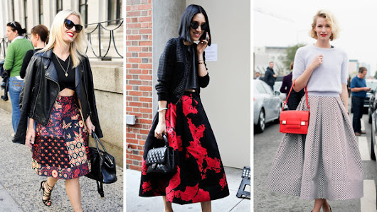 Fall Fashion Trends: Jewelry, and Skirts that Flutter