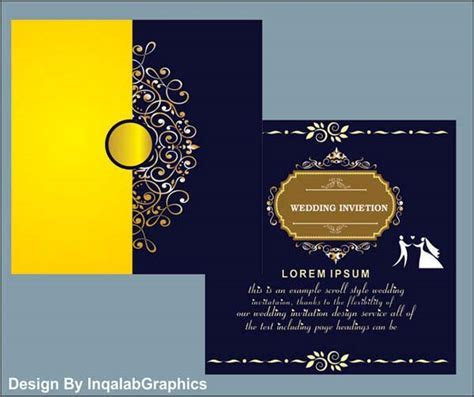 Wedding Invitation Templates Vector, free Wedding Cards