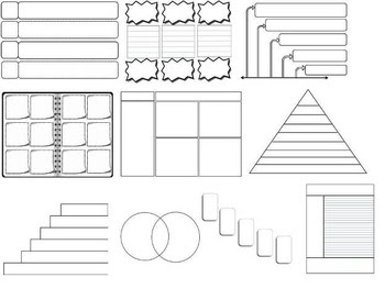 44 Editable Graphic Organizers Interactive... by The Math Magazine ...