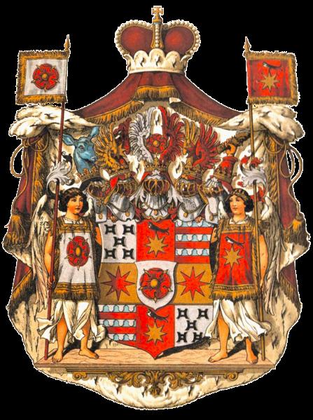Archivo:Wappen Deutsches Reich - Fürstentum Lippe.png