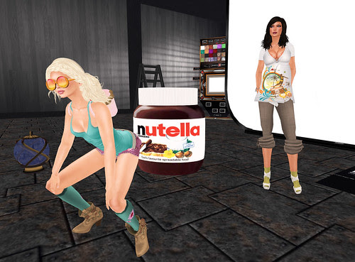 Poppin' the Nutella