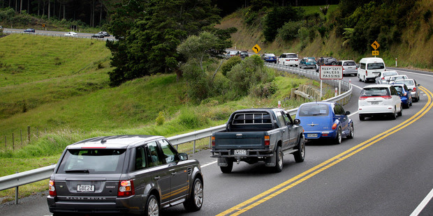 Traffic is starting to congest on State Highway 1. Photo / file / Sarah Ivey
